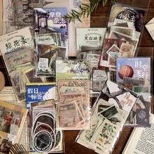 XINAHER 60 teile/beutel Vintage Europäischen mädchen tier anlage label papier aufkleber paket DIY tagebuch dekoration aufkleber album scrapbooking