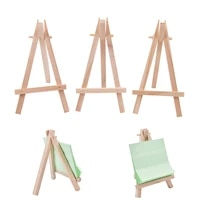 1 pcs mini wooden art drawing board multifunctional holder artwork display table top easels drawing boards 12 57cm