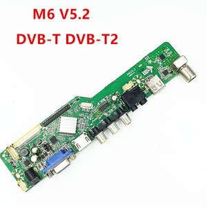 New TV motherboard M6 5.2 supports DVB-T2 DVB-T DVB-C Contact us to determine the region and procedure before purchasing