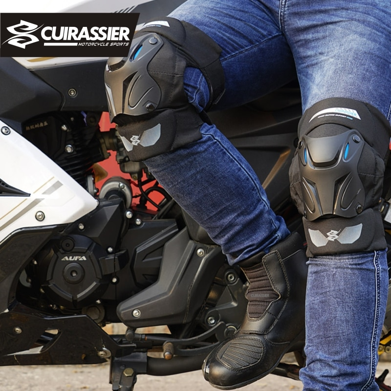 Motorcycle Kneepad Protector Off-Road Motorcycle Protection Motocross Protect Kneepad Elbow Pads MX Protective Knee Guards Brace enlarge