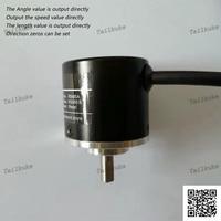 RS485 Standard ModbusRTU Communication Absolute Value Encoder Single Turn Multiturn Position Speed Length Rotation