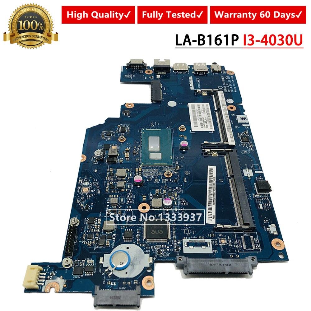 Z5WAH LA-B161P I3-4030U ordenador portátil placa madre para Acer E5-571 E5-571P placa base