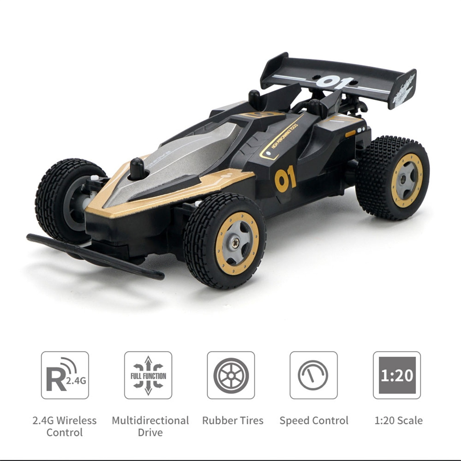 JJR/CQ91 1:20 2.4G 4WD Off-road Remote Control Drift Car High Speed Vehicle Racing RC Car Children's Toy Gift for Boys Kids enlarge