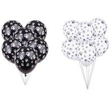 Ballon à empreinte en Latex pour chien 10 pièces, imprimés nu, à Air épais, fournitures décoratives de fête danniversaire