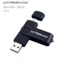 New Usb 3.0 Wansenda OTG USB flash drive for SmartPhone/Tablet/PC 8GB 16GB 32GB 64GB 128GB 256GB Pen