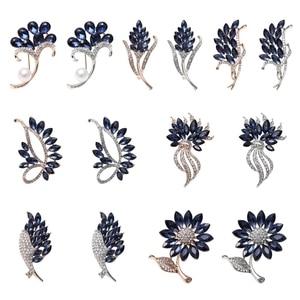 Evening Dress Fashion Creative Versatile Accessories Temperament Glass Vintage Crystal Brooch
