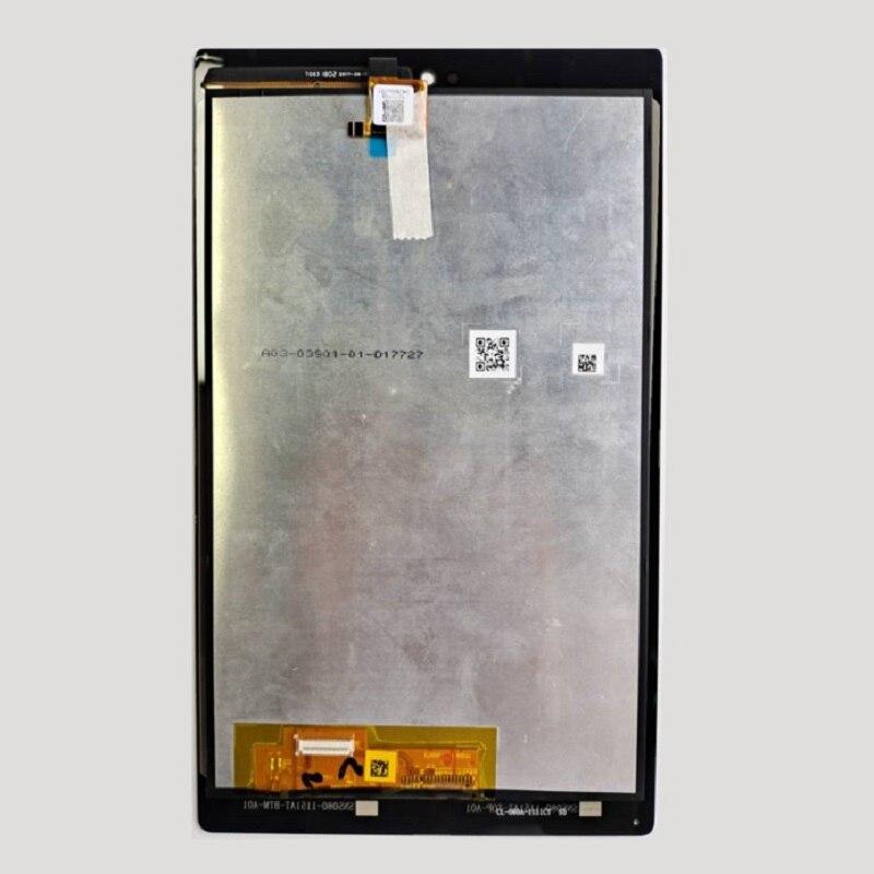 Pantalla LCD con Digitalizador de pantalla táctil reemplazo de montaje completo para Amazon Kindle Fire HD8 (versión 2017) SX034QT