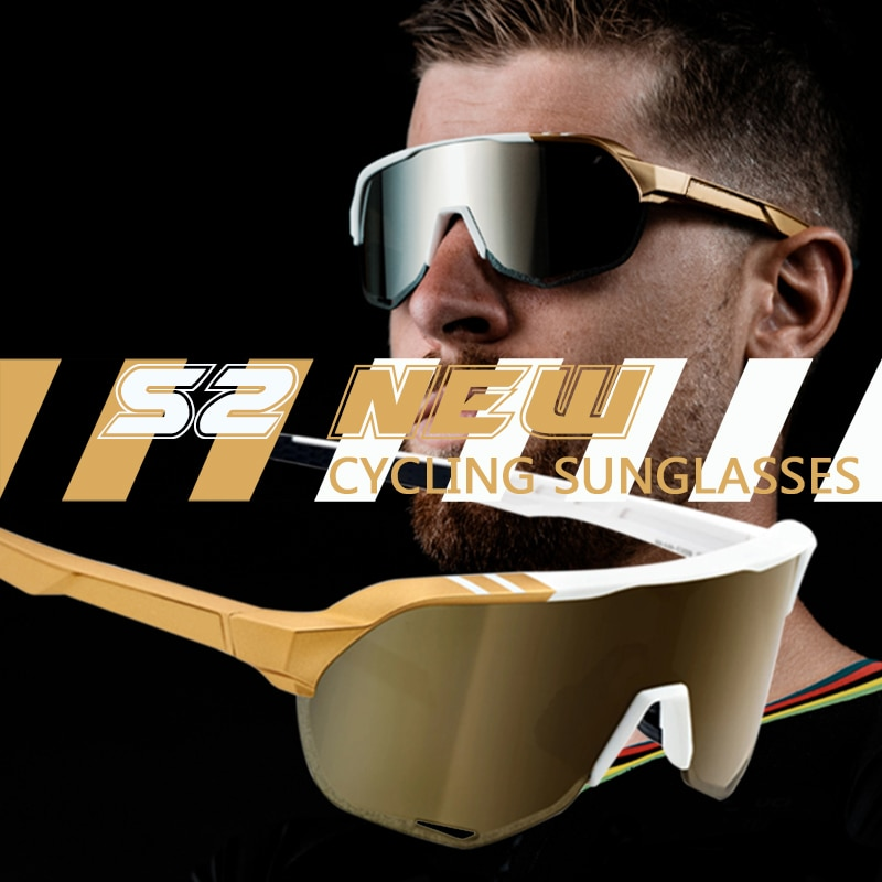 Outdoor sports cycling glasses For Men Women Mountain sport sunglasses bike bicycle goggles S2 cycling Eyewear road bike glasses 2021 all the new cycling sunglasses men women uv400 sport mountain road bike glasses mtb running fishing goggles bicycle eyewear