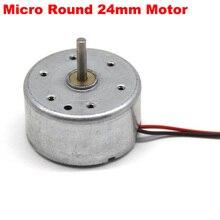 Micro RF-300CA DC 5V 3V-6V 13000RPM Mini 24mm*12mm Electric Motor 2mm Long Shaft DIY Solar test Fan Part