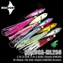 Incenku Rubber Jig Fishing Lure pesi 40-80g Metal Isca Artificial Glow In The Dark Bait Squid Hook Bass Pesca accessori Mar