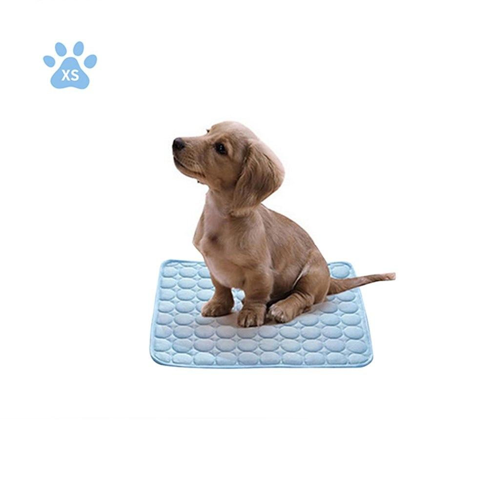 Alfombra refrescante para verano lavable para perros y gatos, esterilla transpirable para...