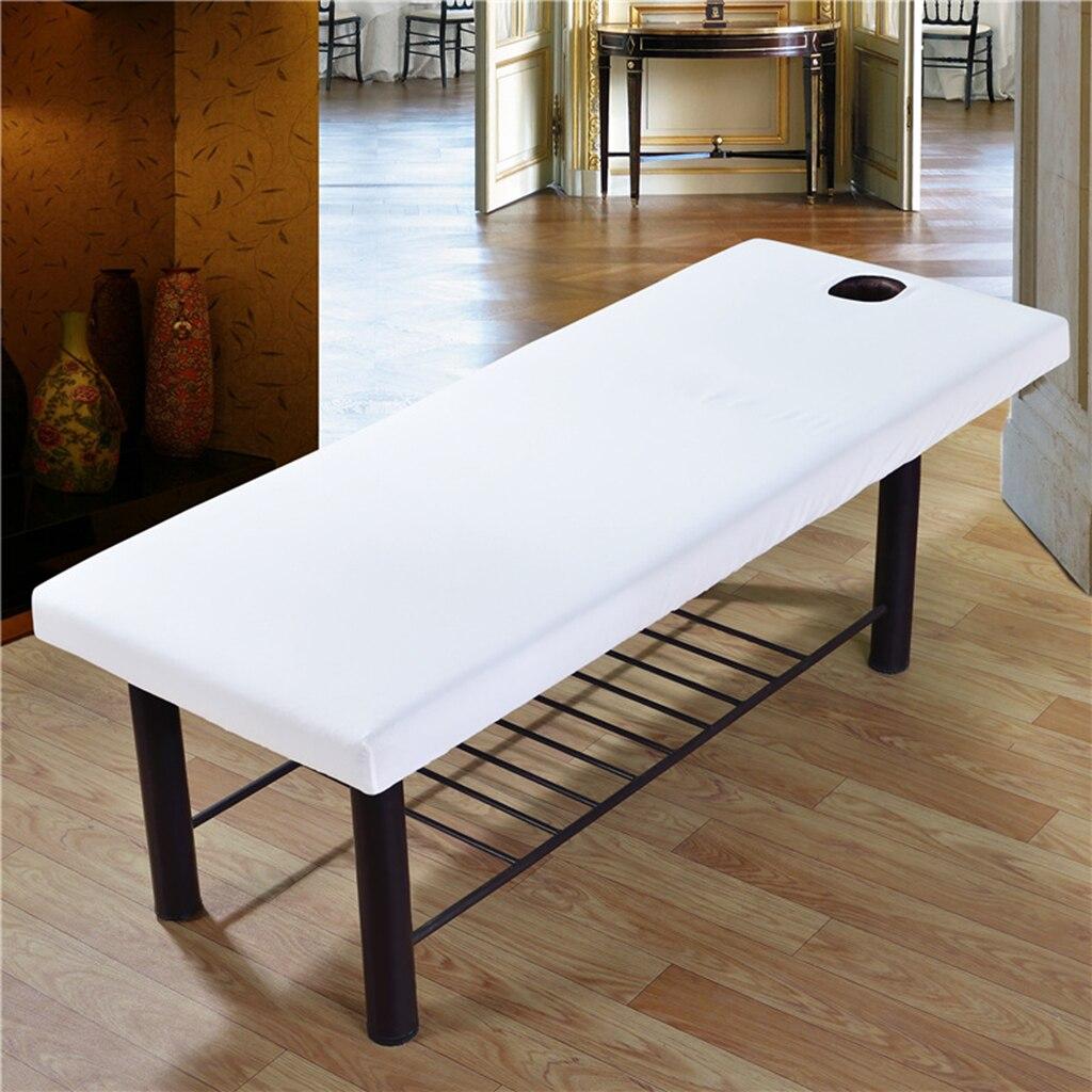 Funda Universal duradera para salón de belleza, cama con lámina para masaje, ajustable a la mesa en 80x190cm, fácil de ajustar