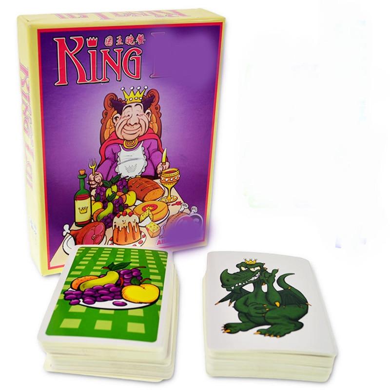 Juego de mesa King 3-5 jugadores para jugar mejor regalo familia/fiesta/amigos divertido juego de cartas de rompecabezas