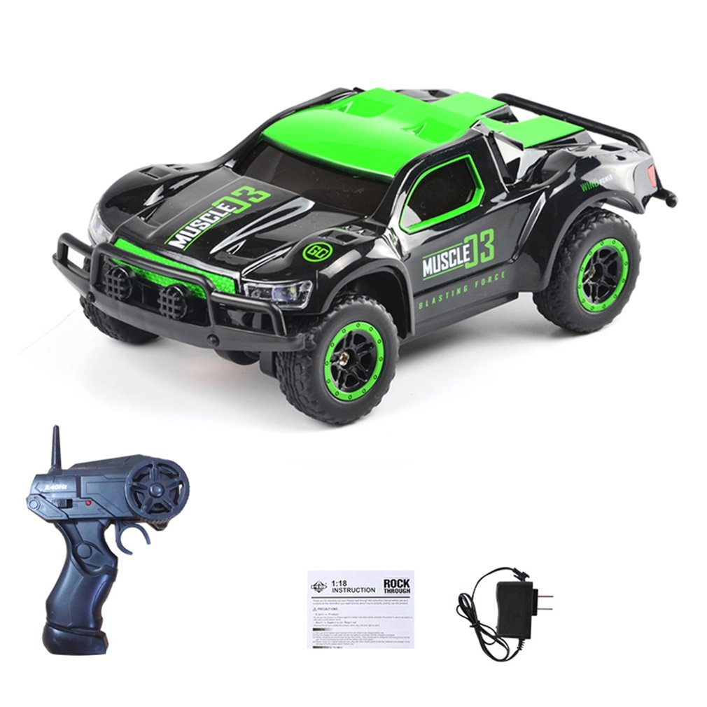 Toys 1/43 2.4G 4WD mini Rc Car Electric 14km/h Truck Vehicle Model Kids Car Toys remote control cars boys toys for 10 year old
