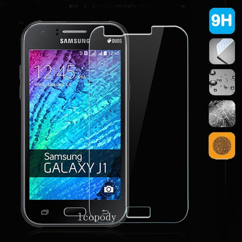 Tempered glass FOR Samsung Galaxy J1 SM-J100F SM-J100FN  SM-J100H J100 J100F J100FN J100H J100M Glass Film j1