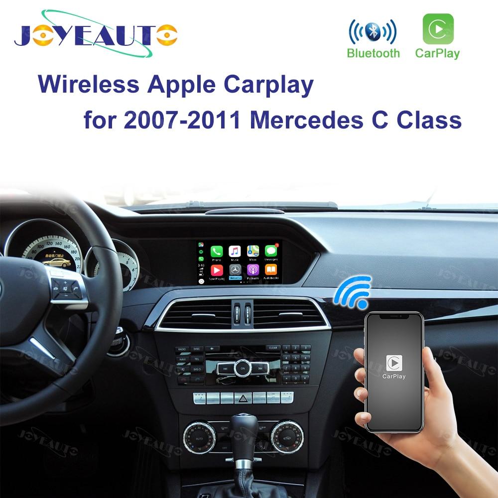 Joyeauto Wireless Apple Carplay for Mercedes NTG4.0 A B C E GLK GLA ML SLK Class 2007-2011 Benz Car play Android Auto/Mirroring