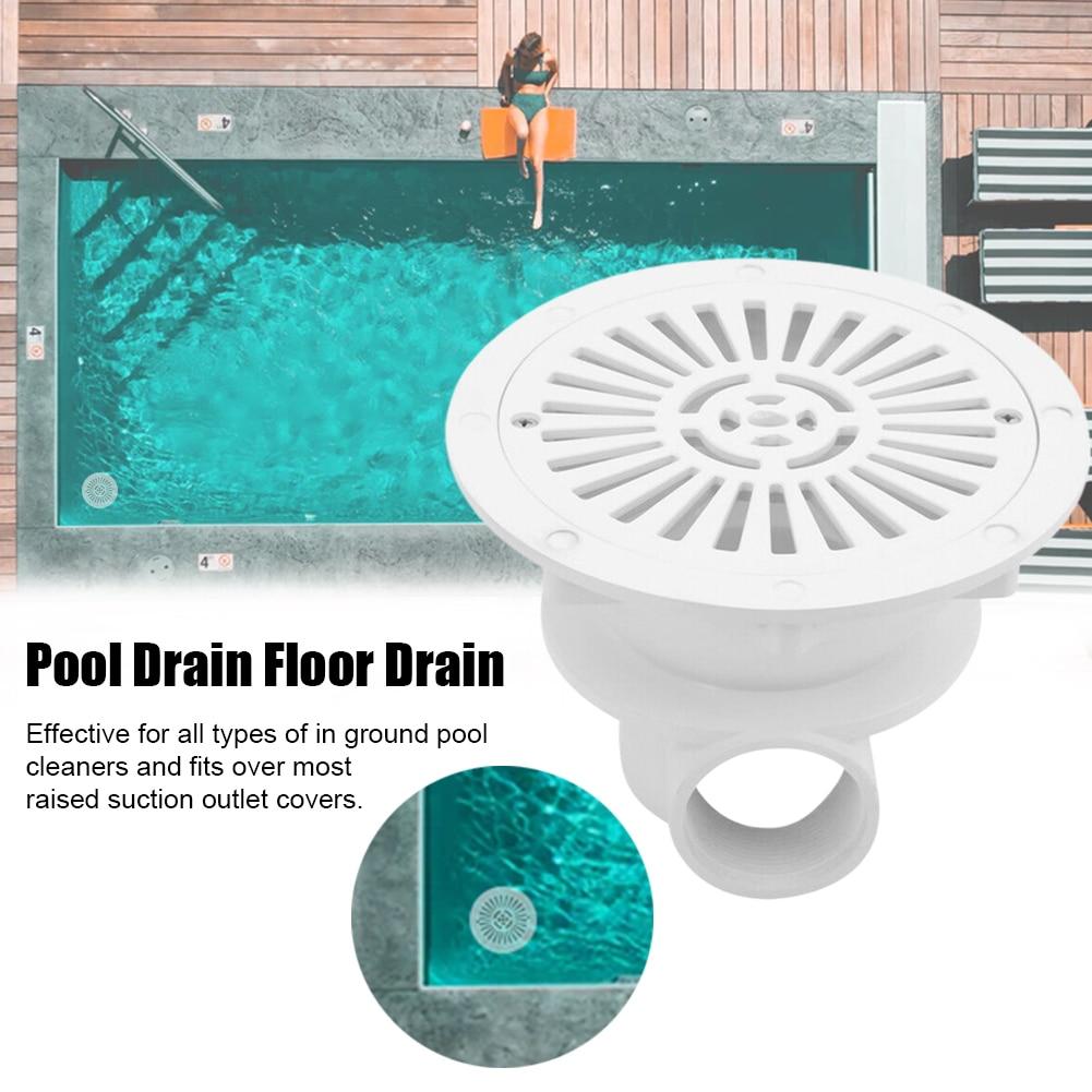 Accesorio de filtro de drenaje principal para piscina, accesorios de repuesto antiobstrucción para suelo, accesorios multifuncionales para bañera de hidromasaje