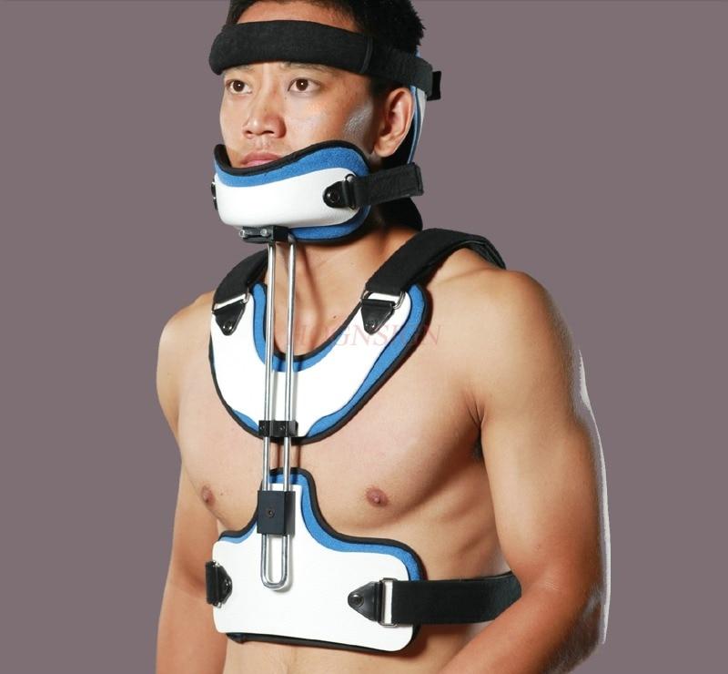 Head and neck chest orthosis neck support adult cervical vertebra support cervical spine fixation device