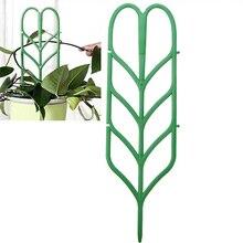 Bricolage plastique plante Support pour jardin vignes attache cadre Pot Support étagère escalade fleur fixe plante Direction de croissance
