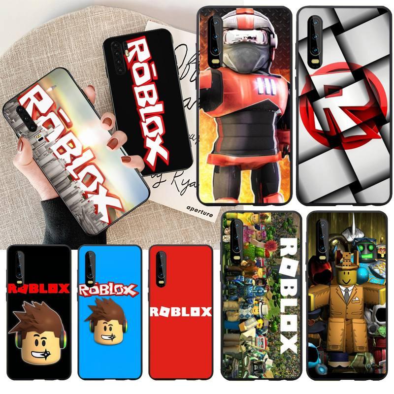 NBDRUICAI Popular Game Roblox Logo DIY Luxury Phone Case For Huawei  Y5 Y6 Y7 Y9 Prime 2019  Enjoy 7 8 9 10 Plus