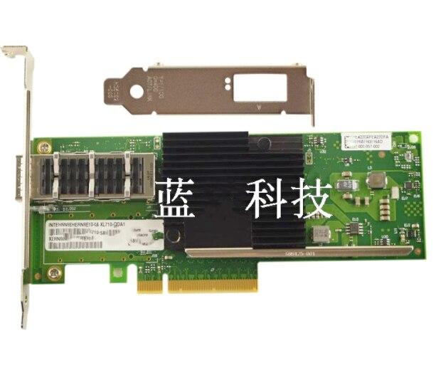 Xl710-QDA1 adaptador de red convertible Ethernet PCIe de un solo puerto de 40Gb Chipset XL710BM1