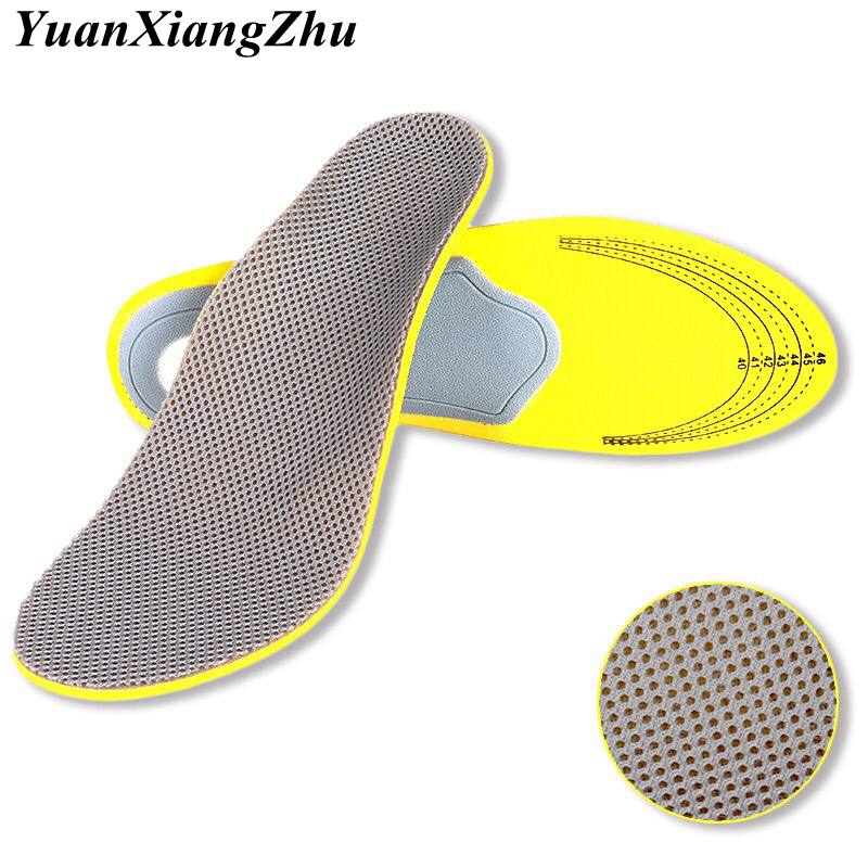 klv unisex free size silicone insole massaging insoles pads sport shoe orthopedic arch pad feet care high quality gel insoles Unisex Breathable Insoles Orthopedic Insoles 3D Flatfoot Flat Foot s Orthotic Arch Support Insoles High Arch Shoe Pad Insole HD3