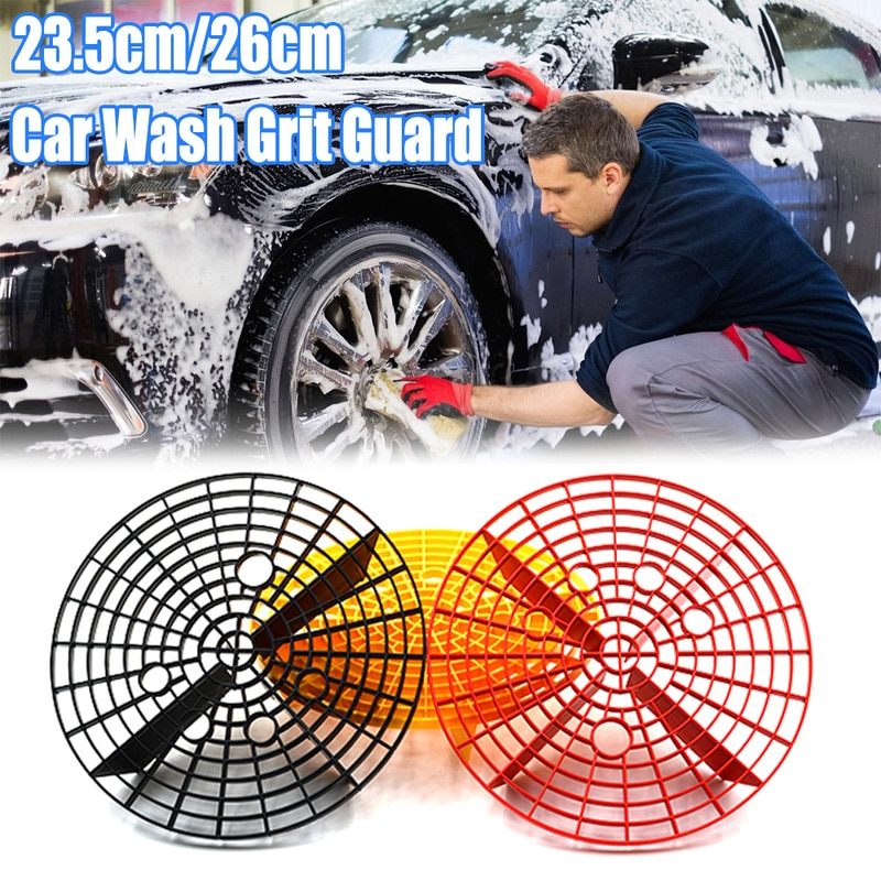 Malla de aislamiento de piedra de arena de protección para lavado de coches de 26cm para evitar rasguños, herramienta de limpieza de esponja de microfibra