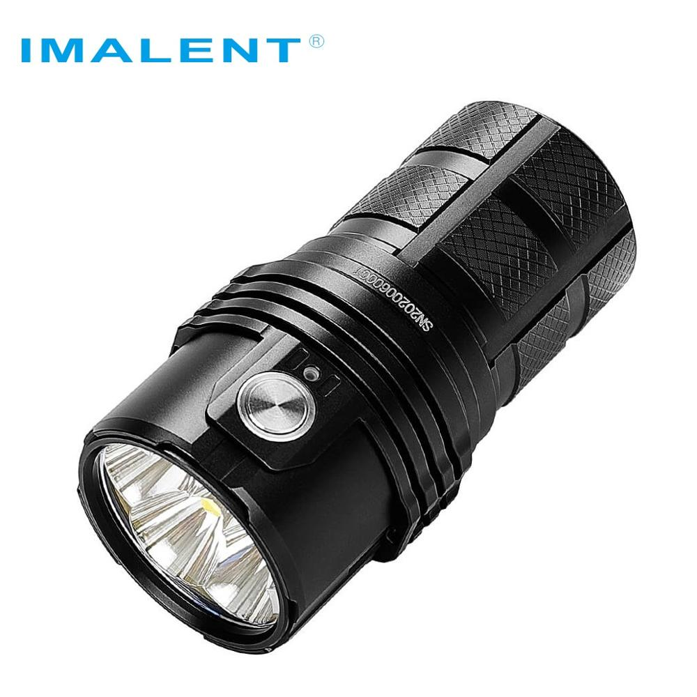 New IMALENT MS06 LED Flashlight CREE XHP70 2nd LEDS 25000 LM High Power Flashlight with 3*21700 Battery for Searching Caving enlarge