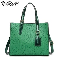 yoreai totes bags women large capacity handbags women pu shoulder messenger bag female retro daily totes lady elegant handbags