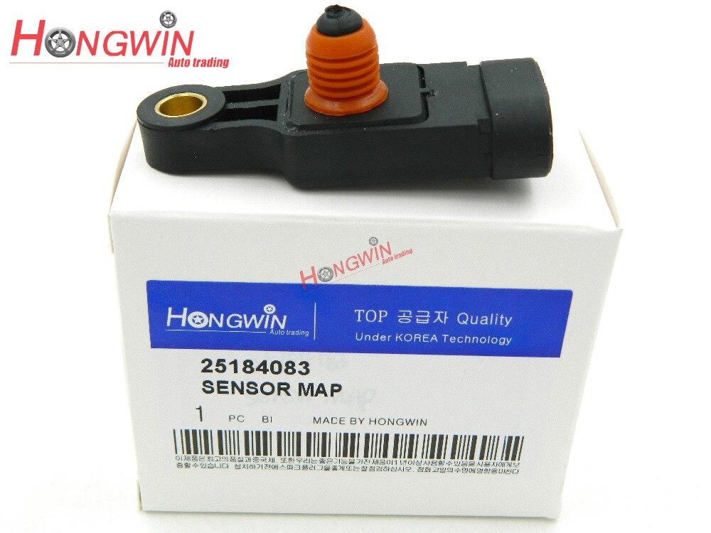 96325870 Map Sensor Fits Chevrolet Fits Spark, Aveo, Matiz daewoo Kalos 05-06 25184083