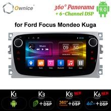 Ownice K1 K2 Автомагнитола Android 8.1 Автомагнитолы 2 din для Ford Focus Mondeo Kuga C-MAX S-MAX Galaxy Магнитола Car radio player