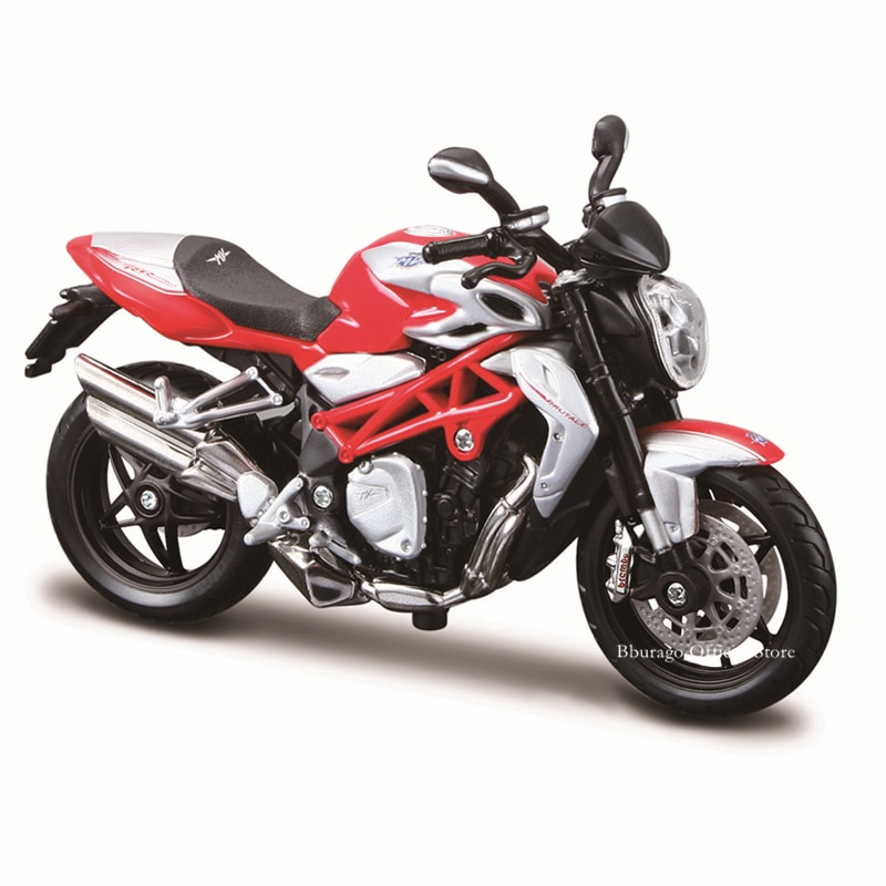 Bburago 1:18 MV Agusta Brutale 1090 RR original authorized simulation alloy motorcycle model toy car gift collection