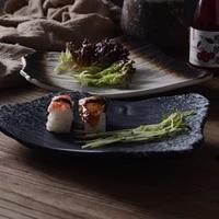 9 5 inch creative irregular watermelon plate pasta plate cold dish snack plate sashimi plate heterosexual plate