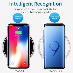 Image 5 - Беспроводное зарядное устройство 30 Вт для iphone 12 Mini 12 Pro Max 8 Plus, беспроводное зарядное устройство Qi для Samsung S9 S10 + Note 9, беспроводные зарядные устройства