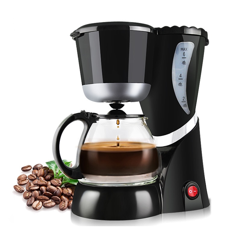 400 ml coffee machine filter coffee maker with travel mug Automatic Coffee Makers DIY Drip Mini Household Coffee Machine With Cafetera Intelligent Portable Electric Cafeteira Maker