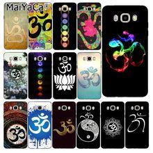 MaiYaCa Aum Om Yoga    Phone Case Back Cover For Samsung Galaxy J7 J6 J8 J4 J4Plus J7 DUO J7NEO J2 J5 Prime