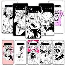Anime Himiko Toga Boku cute Case for Samsung Galaxy A51 A71 A50S A10 A20E A30 A40 A70S A90 M30S A01 A21 A6 A7 A8 A9 Plus + Phone