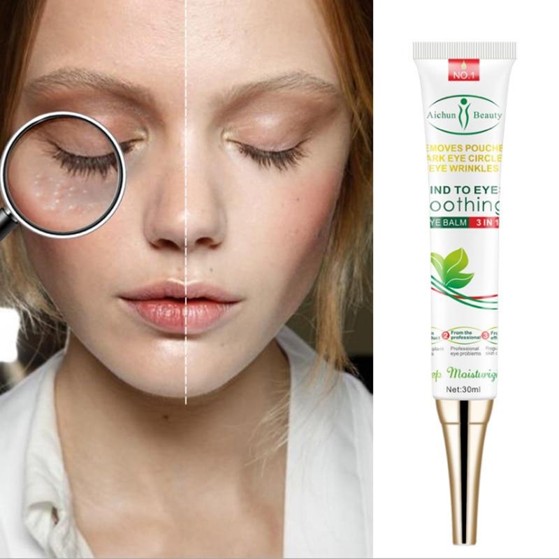 Eye Cream Peptide Collagen Serum Anti-Wrinkle Anti-Age Remove Dark Circles Eye Care Against Puffiness And Bags Hydrate Eye Cream недорого