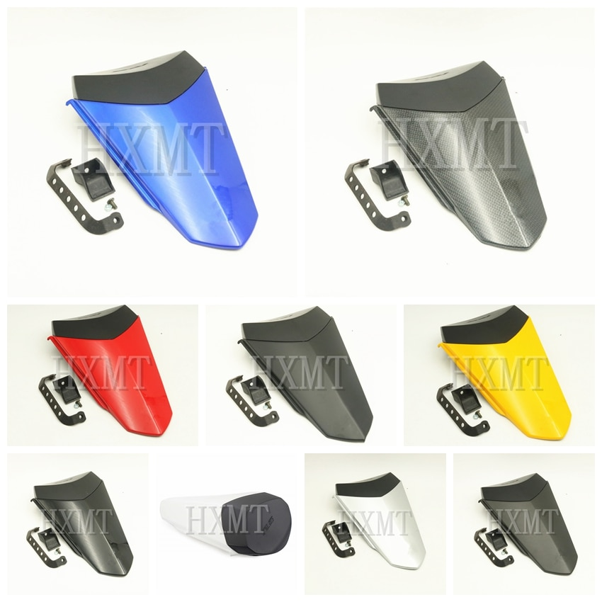 For Yamaha YZF600 R6 2017 2018 2019 2020 YZF R6 blue Motorcycle Pillion Rear Seat Cover Cowl Solo Seat Cowl Rear Fairing