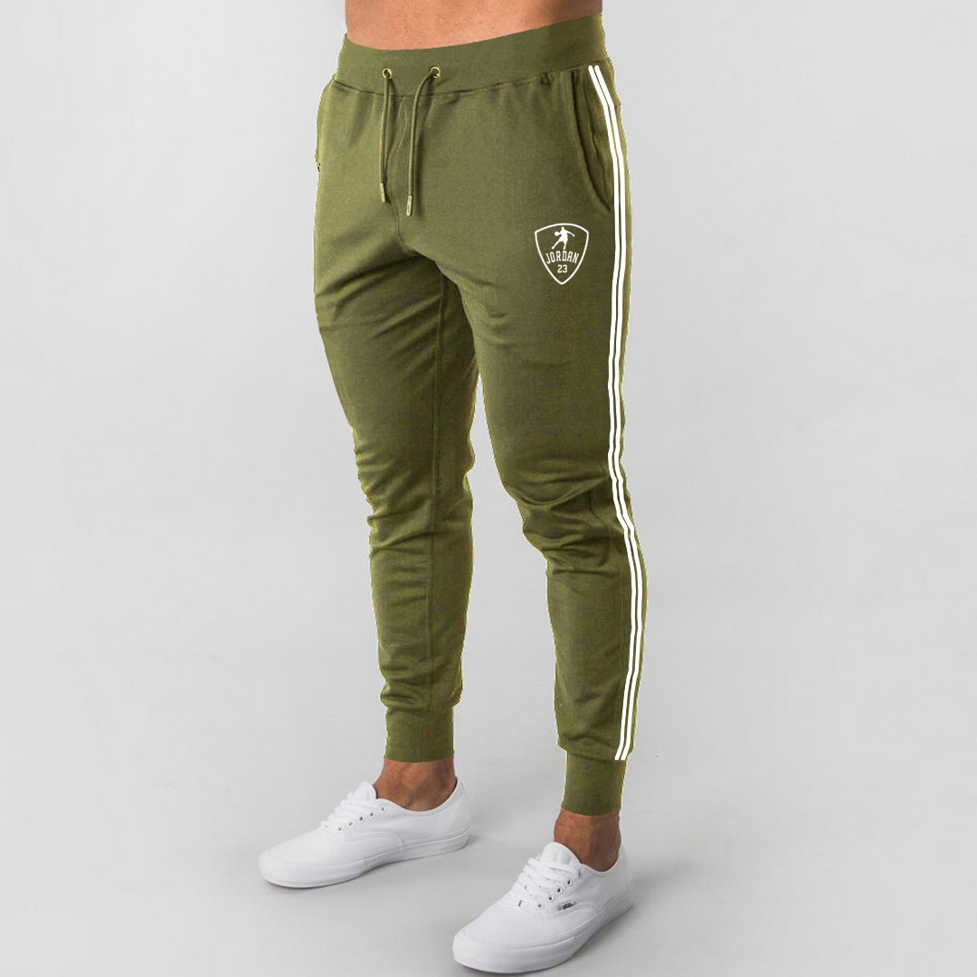 2021 Men's Casual Tight Jogging Pants Sports Pants Fitness New Fall Men's Fashion Pant