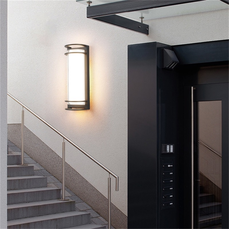 8M Wall Sconces Light Outdoor Classical LED Lamp Waterproof IP65 Home Decorative For Porch Stairs enlarge