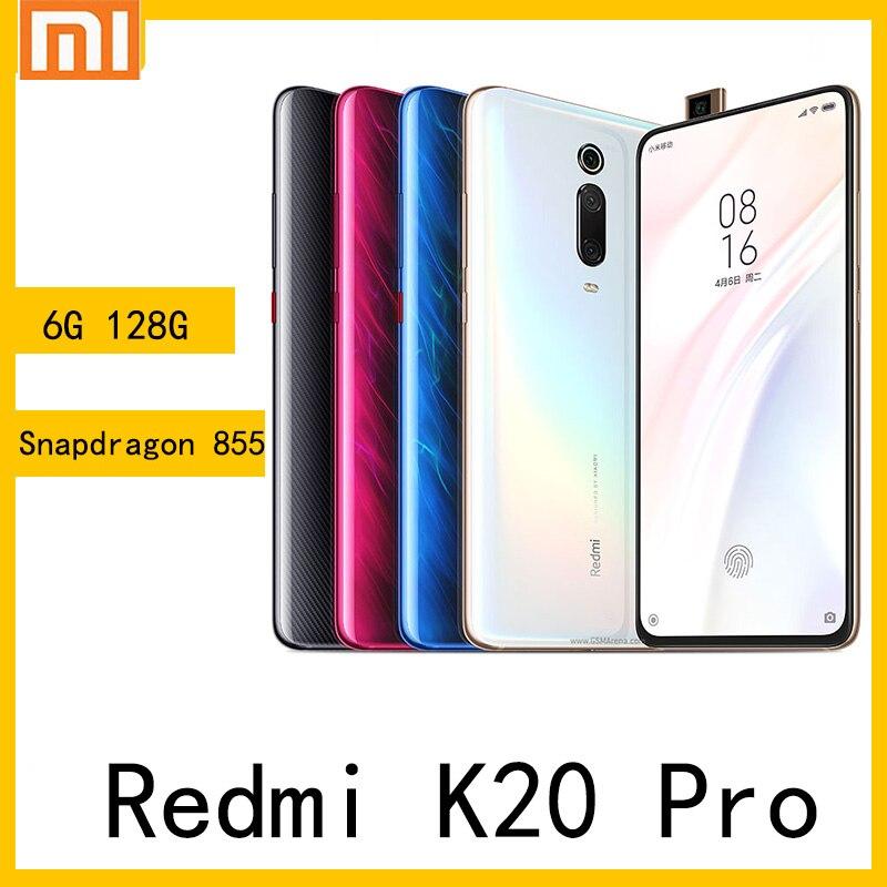 Smartphone Xiaomi Redmi K20 Pro celular 6GB RAM 128GB ROM Snapdragon 855 48 MP+ 20 MP