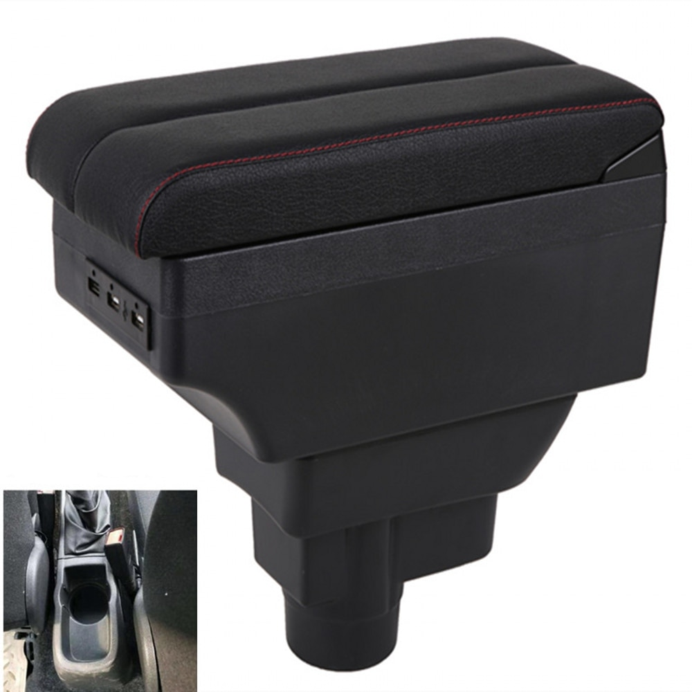 For Opel Vauxhall Corsa armrest box central content box interior Armrests Storage car-styling accessories part with USB
