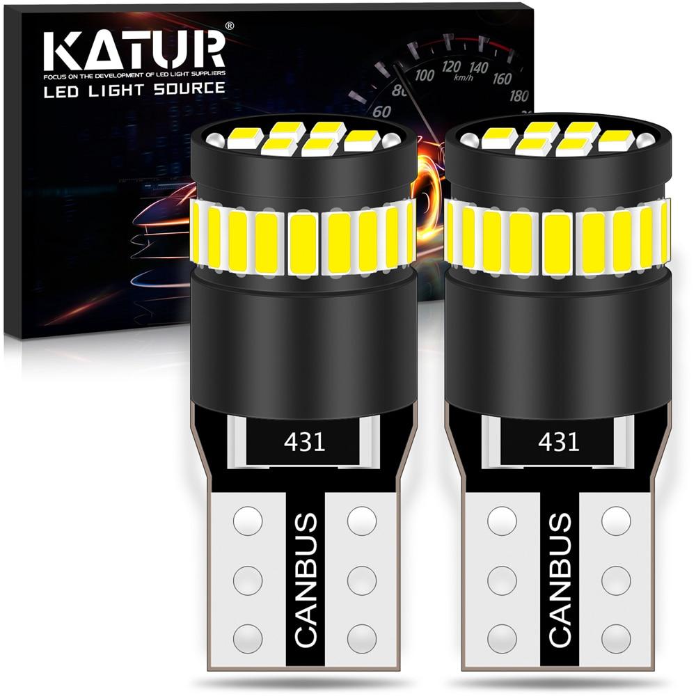 2 uds Canbus T10 W5W 168, 194 LED de las luces de estacionamiento bombillas para Kia Rio K2 K3 K5 K4 KX5 Cerato alma Forte Sportage R Sorento