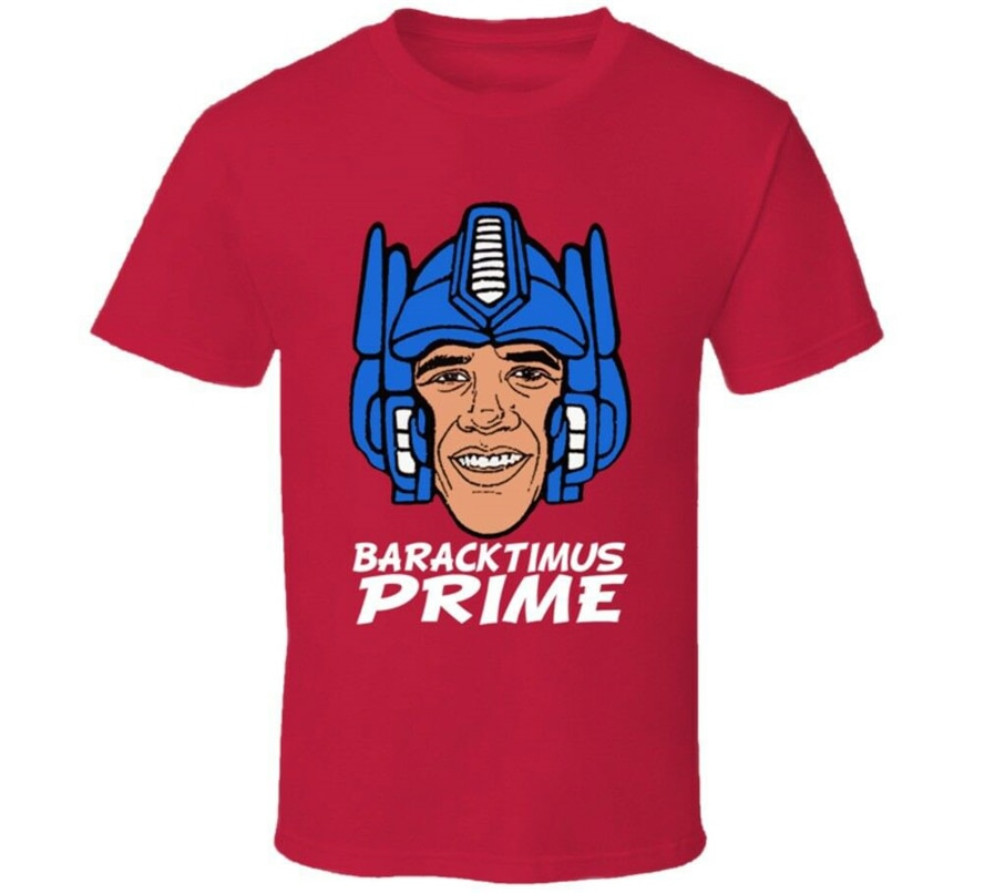 Barack Obama Baracktimus primer T camisa de manga corta Camiseta