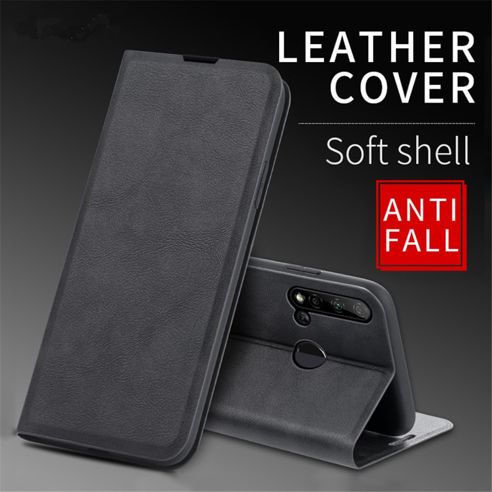 Business Wallet Case for Honor Play 5T Coque Flip Leather Bracket Fundas Card Holder Shockproof Ultra Thin Full Protection Cover