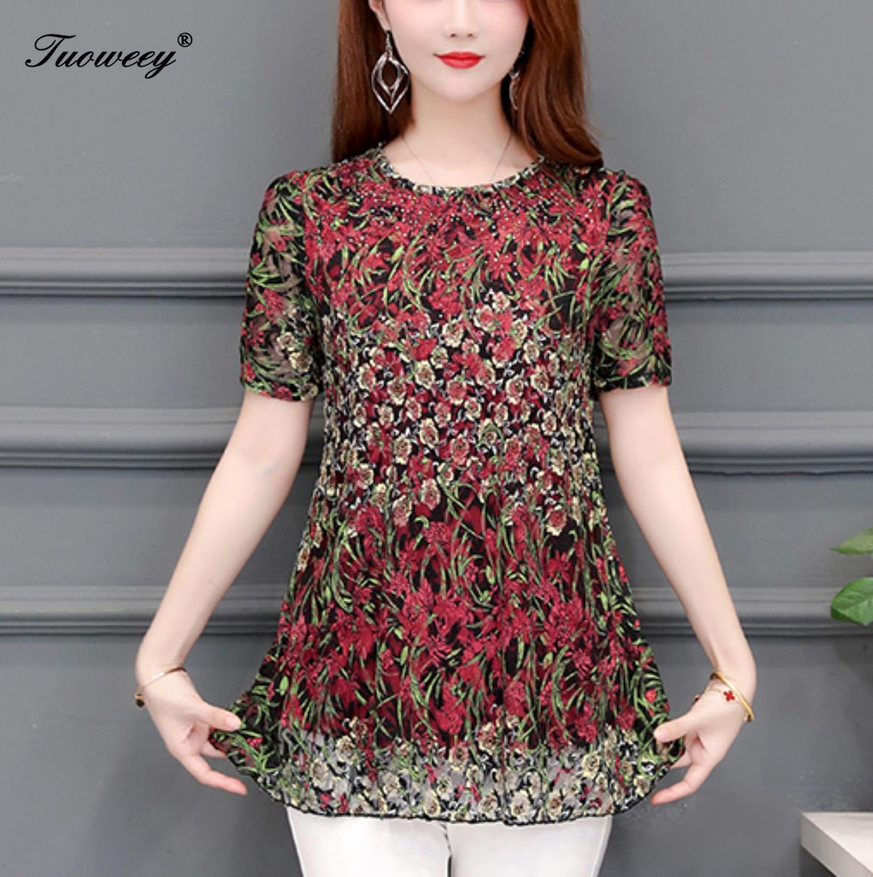 Blusas mujer de moda 2020 estampado floral chiffon blusa mujer tops camisas mujer chemisier femme tops y blusas para mujer