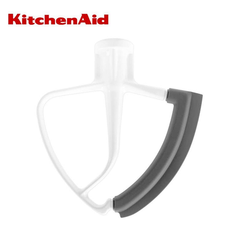 Flex Edge Beater 4.5/5Quart for Kitchen Aid Tilt-Head Stand Mixer Wing Shape Flat Beater Mixer Blade with Bowl Scraper Tools
