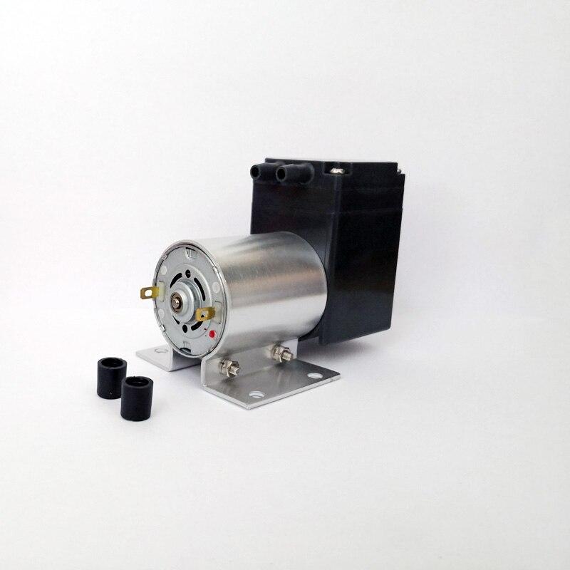 -80kpa Mini Vacuum Pump DC 12V 24V Small Negative Pressure Suction Air Pump Medical Diaphragm Pump Cupping Vacuum Pump 11L/min kamoer kvp04 12v 24v mini diaphragm vaccum pump electric air pump with low flow rate 1 1l min and low noise