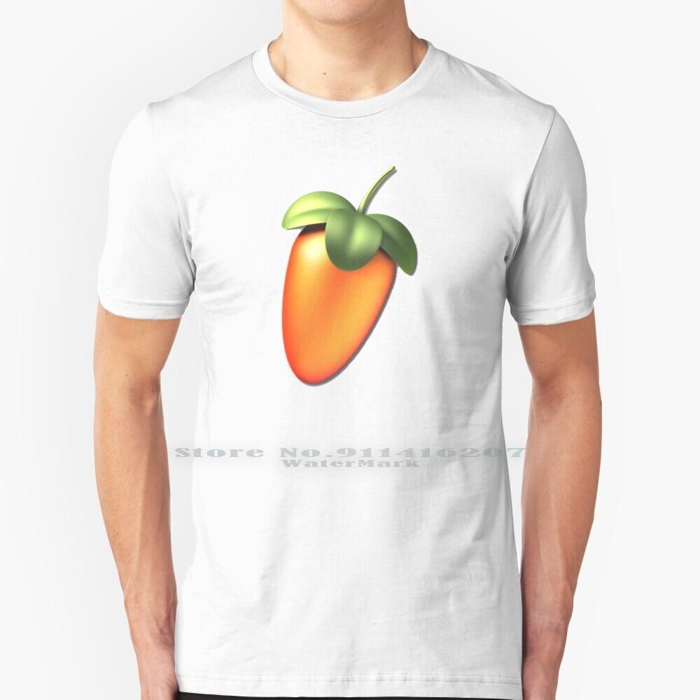 Fl Studio-Camiseta de algodón puro para 100%, camiseta con Logo de estudio...